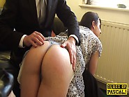 English Sub Cockriding After Getting Spanked