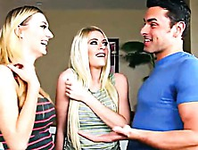 Rily Reid & Natalia Starr Threesome Sharing Husband