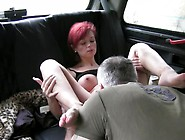 Redhead Amateur Banged In Fake Taxi