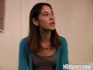 Ndngirls. Com 19Yo Native American Teen Swallows Cum In Mouth