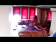Husband Cheats With The Maid Caught By Cctv