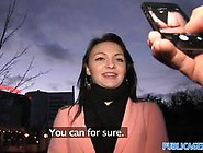 Public Agent Fucking A Black Haired Babe