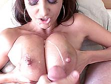 Busty Milf Ava Addams' Tits Sprayed With Fresh Love Juice