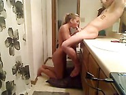 Teen Couple Fucking Good In The Bathroom After The Shower