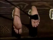 Bastinado- Female In Stocks