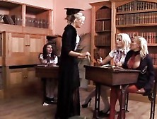 Gemma Massey And Michelle Thorne Have Class Gangbang