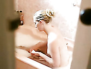I Enjoy Watching How My Sexy Young Wife Takes A Bath With Foam