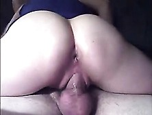 Bubbly Butt Girl Rides A Throbbing Fuckstick That Is Large