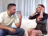 Unexpected Client For Hot Escort Britney Amber