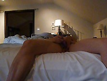 Wife Masturbating With Vibrator