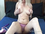 The Female Orgasm: Diana's Wet Orgasm