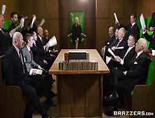 """Brazzers Public Place Foursome Orgy """"parliamentary Pussy&#34"""
