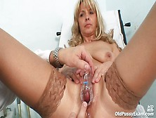 Delicious And Chubby Mom Jirina Fertilized In The Doctor's Offic