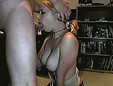 Beautiful Blonde Babe Sucks My Dick Deepthroat And Swallows The
