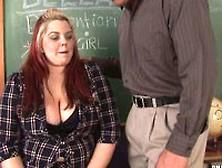 Buxom Bella In Detention After School