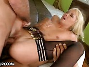 Black And White Cock For Blonde Teen Slut