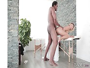Anna Polina Bent Over And Fucked By A Fat Black Cock