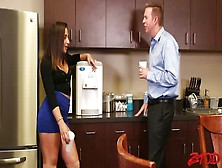 Abella Danger Enjoys Being Penetrated By Mark Wood In The Kitche