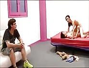 Teen Whore Makes Her Boyfriend Watch