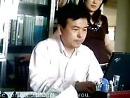 Chinese Boss Fucks His Secretary In The Office