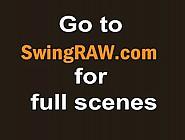 Swingers Having Fun In Group Pleasing In Reality Show
