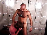 Exciting Gay Cop Gives A Nice Blowjob Before Getting Fucked In T