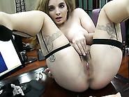 Curvy Girl Masturbating With Big Dildo In Amateur Video