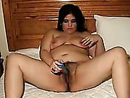 Hot And Chubby Latina Hooker Masturbates With A Dildo