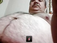 Not Daddy Stroke And Cum In Videocall