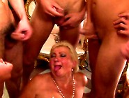 Cum Hungry Grandma Gets Her Fill