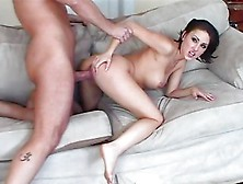Mindy Main Enjoys Getting Her Moist Pussy Pummelled