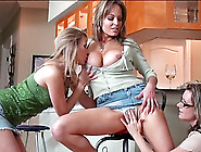 Glorious Mia Mckinley And Two Lesbian Gfs Have Intimate Sex