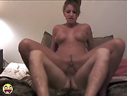 Sexy Non-Professional Pair Fuck Hard Cowgirl Style