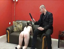 Faes Bare Ass Spanking And Corporal Punishment Of Striped Amateu