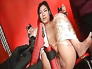 Asian Teen Toyed And Shocked Until She Squirts