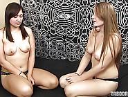 Teen Daisy Makes Melina Her Foot Worship Slave