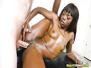 Bootylicious Ebony Slut Ana Foxxx Fucked Hard By White Stud