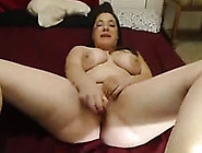 Amateur Chubby Brunette Chick Shows Off Her Pussy On Webcam