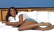 Cute Black Girl Undressing
