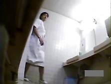 Hidden Japanese Nurse Toilet Masturbation 3