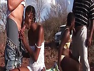 African Girls Getting Fucked Outdoor In Groupie