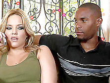 Sweet Alexis Texas And Bailey Brooks Have Interracial Sex