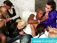 Party Sluts Gangbanging Lucky Black Guy In A Afterparty Orgy