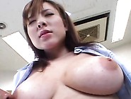 Busty Cutie Has A Great Face For Taking A Giant Loads Of Cum