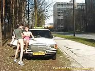 Horny Taxi Driver Needs A Break