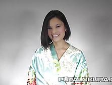 Puta Locura Bukkake With Japanese Miyuki Son