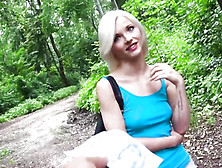 Mofos Network - Euro Babe Fucked In The Woods