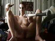 Horny Girl Uses A Variety Of Toys And Objects