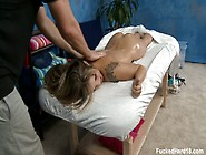Pretty Blonde Sienna Strips Down To
