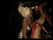 Mistresses Pour Hot Wax Over A Beautiful Sub Girl